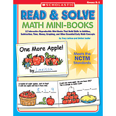 Scholastic Read Solve Math Mini Books