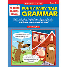 Scholastic Fractured Fairy Tales Grammar