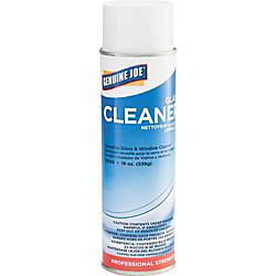 Genuine Joe Glass Cleaner Aerosol Ready