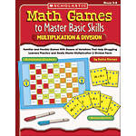 Scholastic Math Games MultiplicationDivision