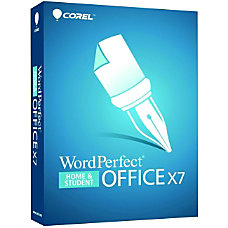 Corel WordPerfect Office X7 Home Student