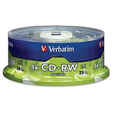 Verbatim CD RW 700MB 2X 4X