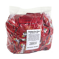 Skittles Fun Size Packs 4 Lb