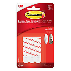 3M Command Mounting Strips 2 Pack