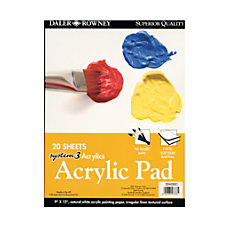 Daler Rowney System 3 Acrylic Pad