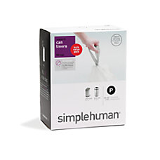 simplehuman Custom Fit Can Liners P