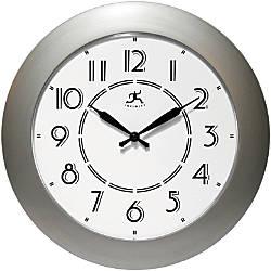 Infinity Instruments Berkeley 14 12 Round Wall Clock