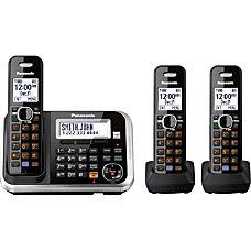 Panasonic KX TG6843B Expandable Digital Cordless
