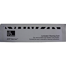 Zebra Cleaning Kit