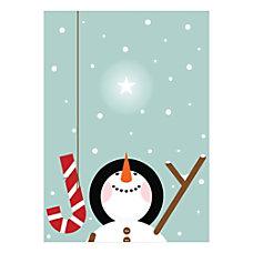 Sample Holiday Card Christmas Joy