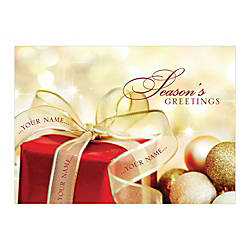 Sample Holiday Card Golden Inspiration