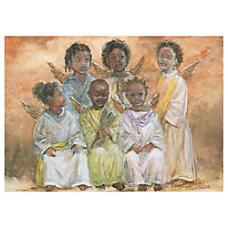 Sample Holiday Card Choir of Angels