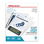 Office Depot Brand Heavyweight Non Glare