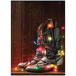 Sample Holiday Card Colorful Kicks