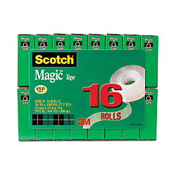 Scotch Magic Tape 34 x 1000