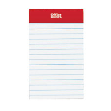 Office Depot Brand Mini Perforated Legal