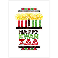 Sample Holiday Card Happy Kwanzaa
