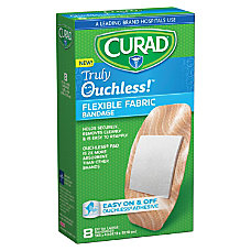 CURAD Truly Ouchless Self Adhesive Bandages