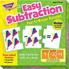 Trend Fun To Know Puzzles Subtraction