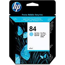 HP 84 Light Cyan Ink Cartridge
