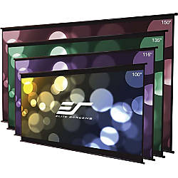 Elite Screens DIY Wall Projection Screen