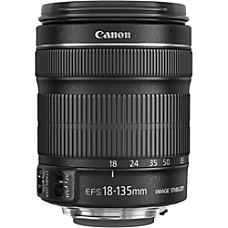 Canon 18 mm to 135 mm