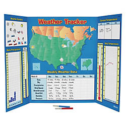 Learning Resources USCanada Weather Tracker Chart