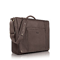 Solo Executive Leather Messenger Bag For