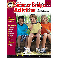 Carson Dellosa Summer Bridge Activities Grades