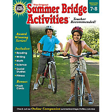Carson Dellosa Summer Bridge Activities Seventh