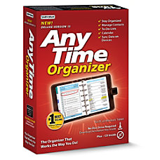 AnyTime Organizer Deluxe 15 Download Version