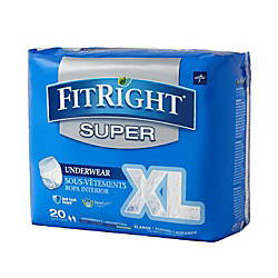 FitRight Super Protective Underwear Extra Large