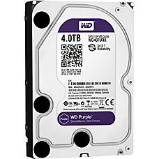 WD Purple 4TB 35 Internal Hard