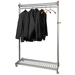 Alba 2 shelf Mobile Chrome Coat