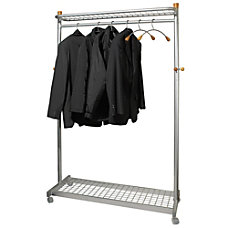 Alba 2 shelf Mobile Chrome Coat