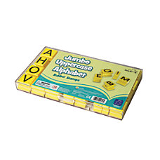 Educational Insights Jumbo Alphabet Stamp Set