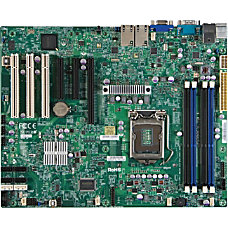Supermicro X9SCA Server Motherboard Intel C204