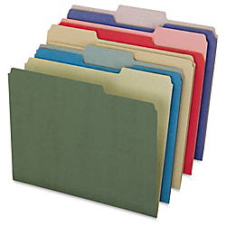 Pendaflex Recycled Colored File Folders Letter