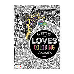 Bendon Adult Coloring Book Animals
