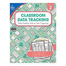 Carson Dellosa Classroom Data Tracking Resource