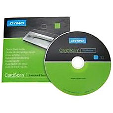 Dymo CardScan Executive v90 Version Upgrade