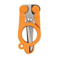 Fiskars Folding Scissors 4 Blunt Orange