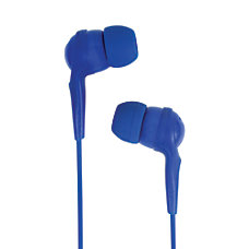 JLab AWESOME Earbud Headphones Blue