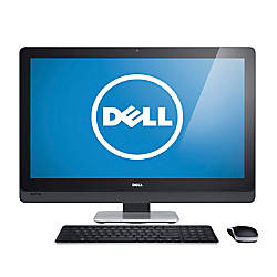 "Dell™ XPS 27 (XPSo27T-3575BLK) All-In-One Computer With 27"" Touch-Screen Display & 4th Gen Intel® Core™ i7 Processor, Windows 8.1"