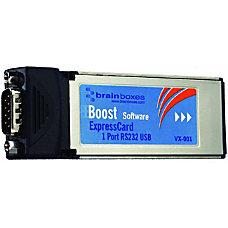 Brainboxes VX 001 1 Port RS