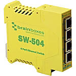 Brainboxes SW 504 Industrial Unmanaged Ethernet