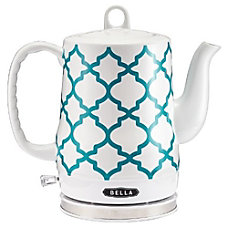 Bella Electric Ceramic Kettle Spanish Tile
