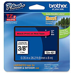Brother P touch TZe Laminated Tape