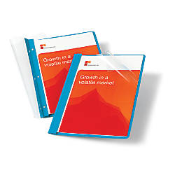 Office Depot Brand Leatherette Clear Front