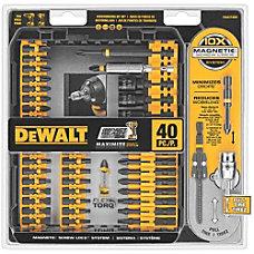 Dewalt 40 Pc IMPACT READY Screwdriving
